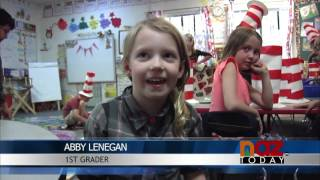 Mountain Charter School Students Participate in Dr. Seuss Day