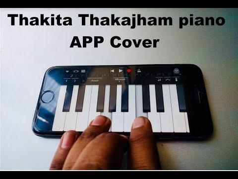 Thakita Thakajham - Awesome Piano App Cover || Rarandoi Veduka Chuddam