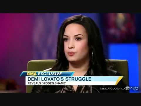 Demi Lovato Talks About Cutting Herself