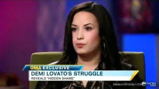 Demi Lovato Talks About Cutting Herself