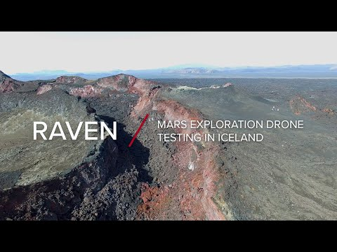 RAVEN | Mars Exploration Drone Testing in Iceland
