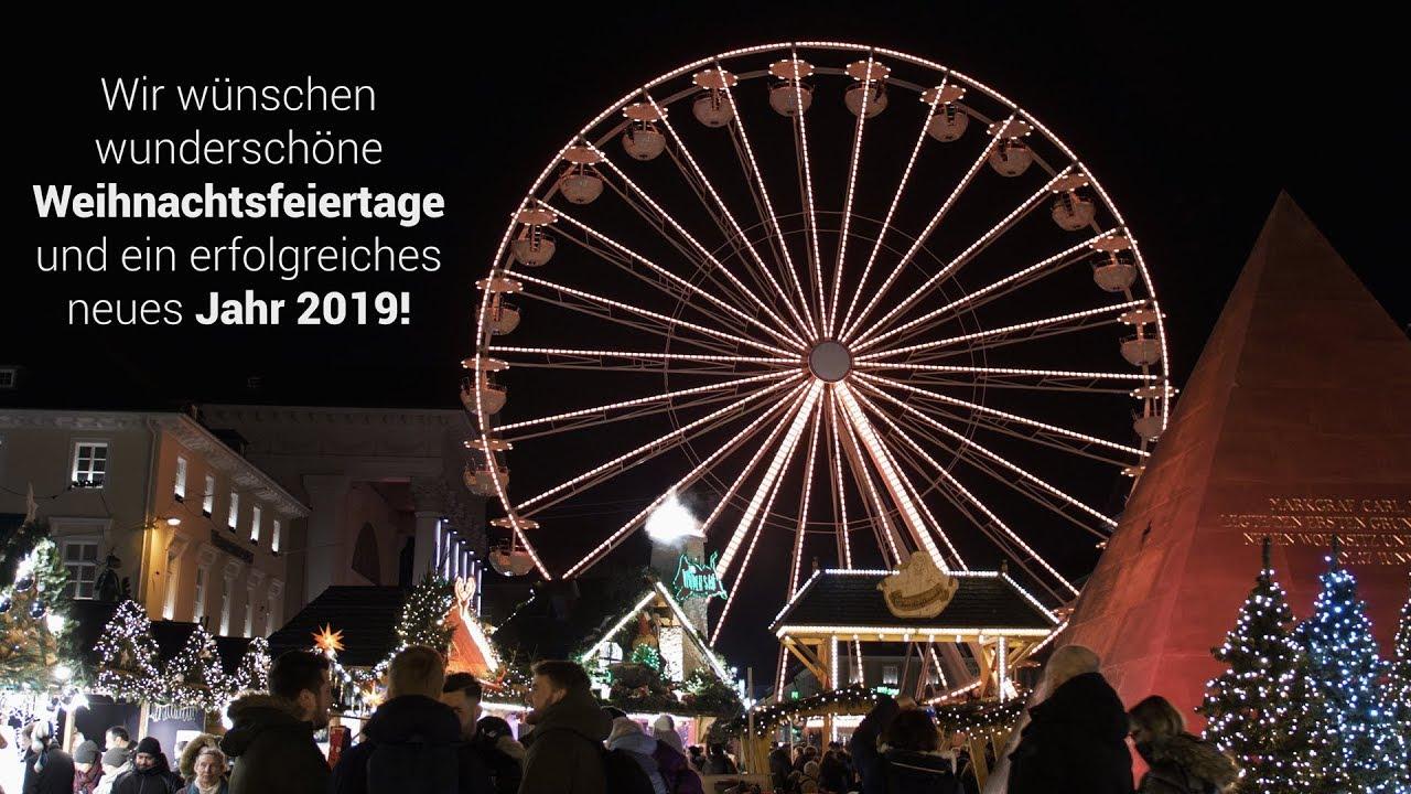 Frohe Weihnachten Und Ein Erfolgreiches Neues Jahr.Frohe Weihnachten Und Ein Erfolgreiches Jahr 2019 Weihnachtsgrüße Von E R Solutions Aus Karlsruhe