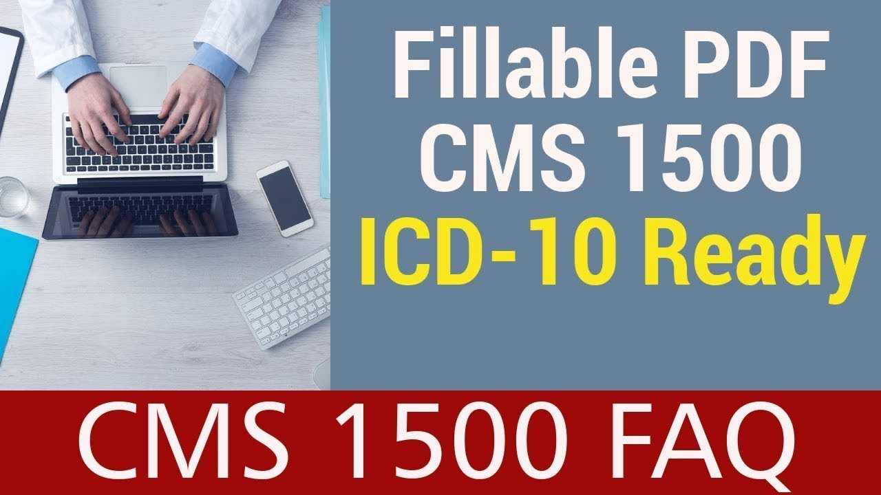 CMS 1500 PDF - ICD-10 Ready. HIPAA Compliant. - YouTube