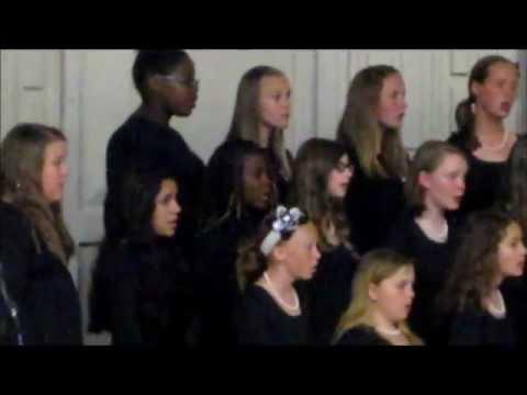 Sydney Monroe in Kingsley Junior High School Choral Concert -  May 2012
