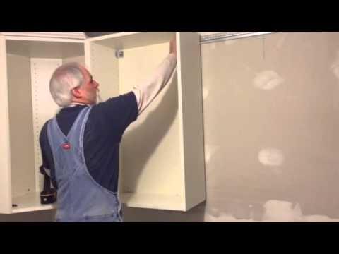 Ikea Cabinet Installation Hack Youtube
