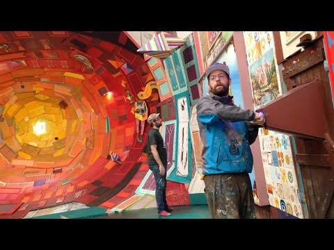 Brazil's Street Artists Osgemeos Return to Gallery