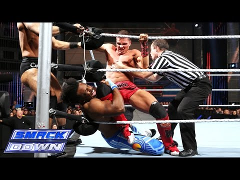 The New Day vs. Cesaro & Tyson Kidd: SmackDown, December 5, 2014
