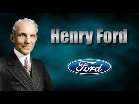 Caso de éxito - Breve historia de Henry Ford💵💰