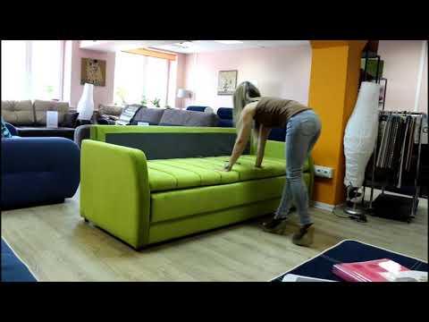 Купить мягкий диван с большим ровным спальным местом без стыков