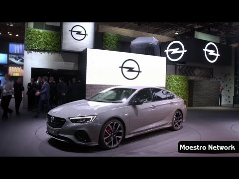 All New 2018 Opel Insignia GSi Interior and Exterior Revealed at Frankfurt Motor Show 2017
