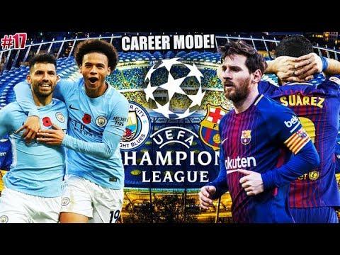 FINALA UEFA CHAMPIONS LEAGUE IMPOTRIVA BARCELONEI// FIFA 18 România // Cariera Manchester City #17