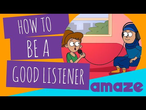 how to be a good listener youtube