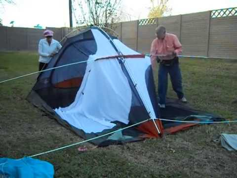 Ten Minute Tent REI Kingdom 6 Family C&ing Tent Pitch & Ten Minute Tent: REI Kingdom 6 Family Camping Tent Pitch - YouTube