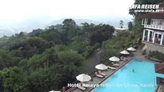 Hotel Amaya Hills, Kandy, Sri Lanka - ein Reisevideo von STAFA REISEN - AllesReise.at. Auf http://www.stafa.at finden Sie mit über 1000 selbst gedrehten ...