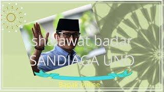 Shalawat Badar Merdu Sandiaga Uno Amp
