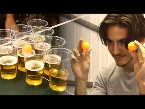 Beer Pong Trick Shots | Peter Bamforth