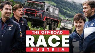 Red Bull Racing Honda Vs Scuderia AlphaTauri: Epic Off-Road Race Across Austria | Schnitzeljagd