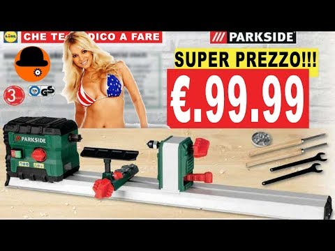 A SOLI €. 99 COMPRATELO!!! SUPER TORNIO PDM 600 A1 PARKSIDE UNICO NEL SUO GENERE