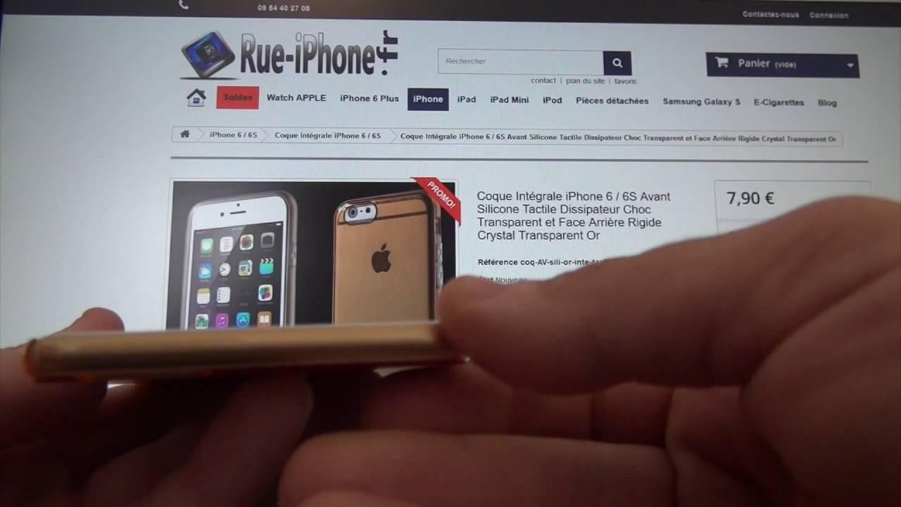 coque integrale dure iphone 6