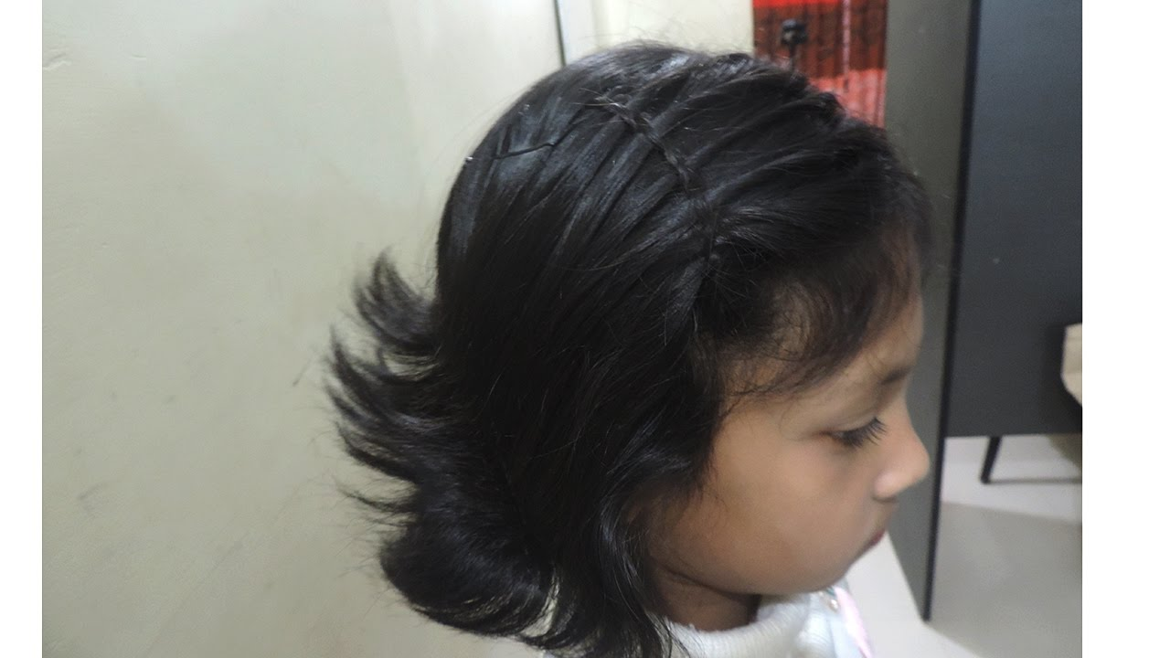 Hair Style For Girls Christmas Party | Hair Styles For Girls Kids By ...