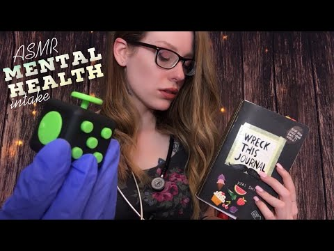 ASMR MENTAL HEALTH INTAKE