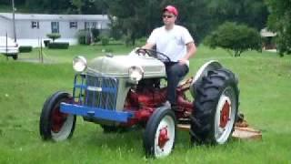 Ford 2N Mowing