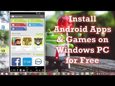 Install Android Apps Games On Pc For Free In Simple Easy
