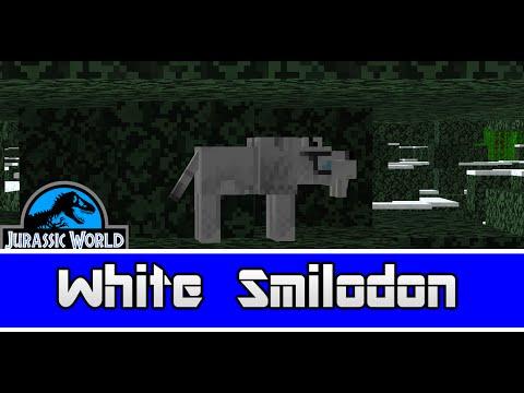 Minecraft Dinosaurs || 20 || White Smilodon
