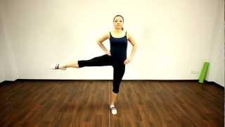 9. Фитнес конструктор- 1-1-1-2 Махи ногами