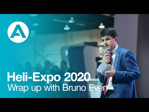 Heli-Expo 2020 - Wrap up with Bruno Even