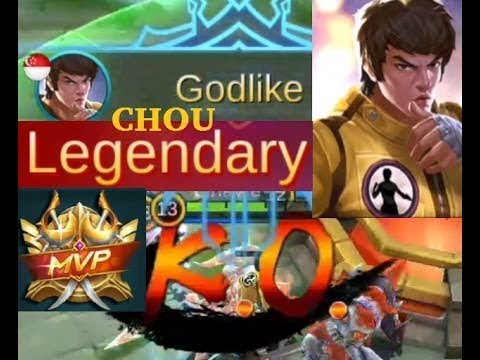 Best Chou Playing# Mobile Legends