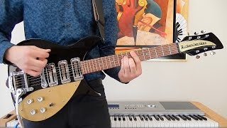 The Beatles - I Want To Hold Your Hand - Rhythm Guitar Cover - Rickenbacker 325c58