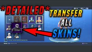 *NEW* Fortnite Skin Transfer GLITCH! *DETAILED VERSION* Get The SKELETON TROOPER *FREE*