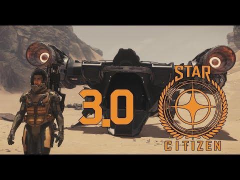 Star Citizen 3.0 - First Hour in - 4K Ultra Widescreen