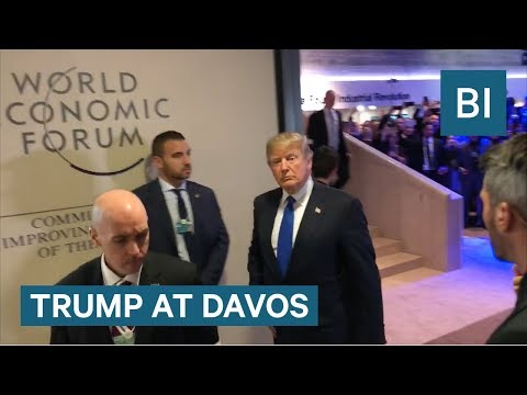 TRUMP TO DAVOS: 'America's great'