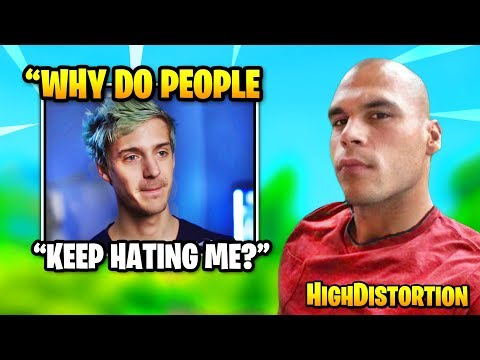 HighDistortion & Dakotaz Explain Why People HATE On Ninja | Fortnite Daily Funny Moments Ep.376