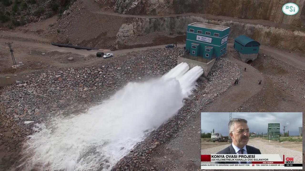 KOP'un kilit barajı yüzde 100 doluluk oranına ulaştı