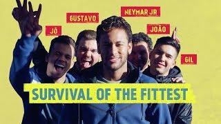 GYM CHALLENGE: Neymar Jr hits the gym for a brutal fitness test!