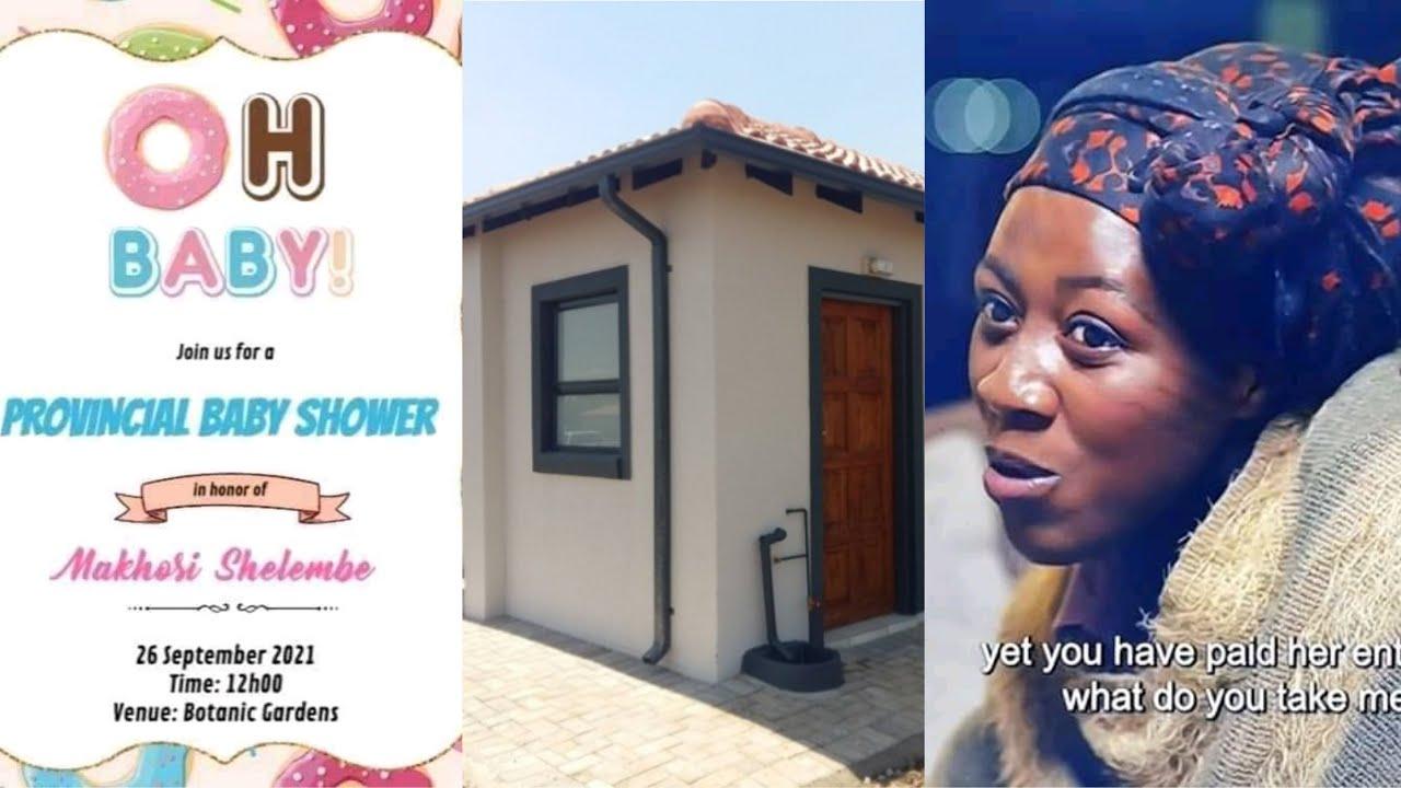 Download MNAKWETHU: MZANSI REACT TO MASHELEMBE AND THIS HAPPENED HOUSE AND BABYSHOWER😍❤🎊🎊
