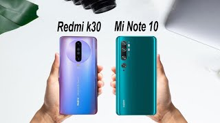 Redmi K30 VS Xiaomi Mi Note 10 Comparison | Speed test, Camera Test