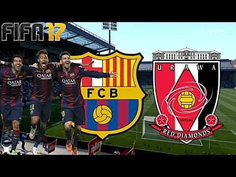FIFA 17 - FC BARCELONA vs. URAWA RED DIAMONDS (SAISONVORBEREITUNG) ◄BAR #02►