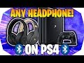 How to Connect ANY Bluetooth Headset To PS4 - How To Connect Bluetooth Headphones to PS4