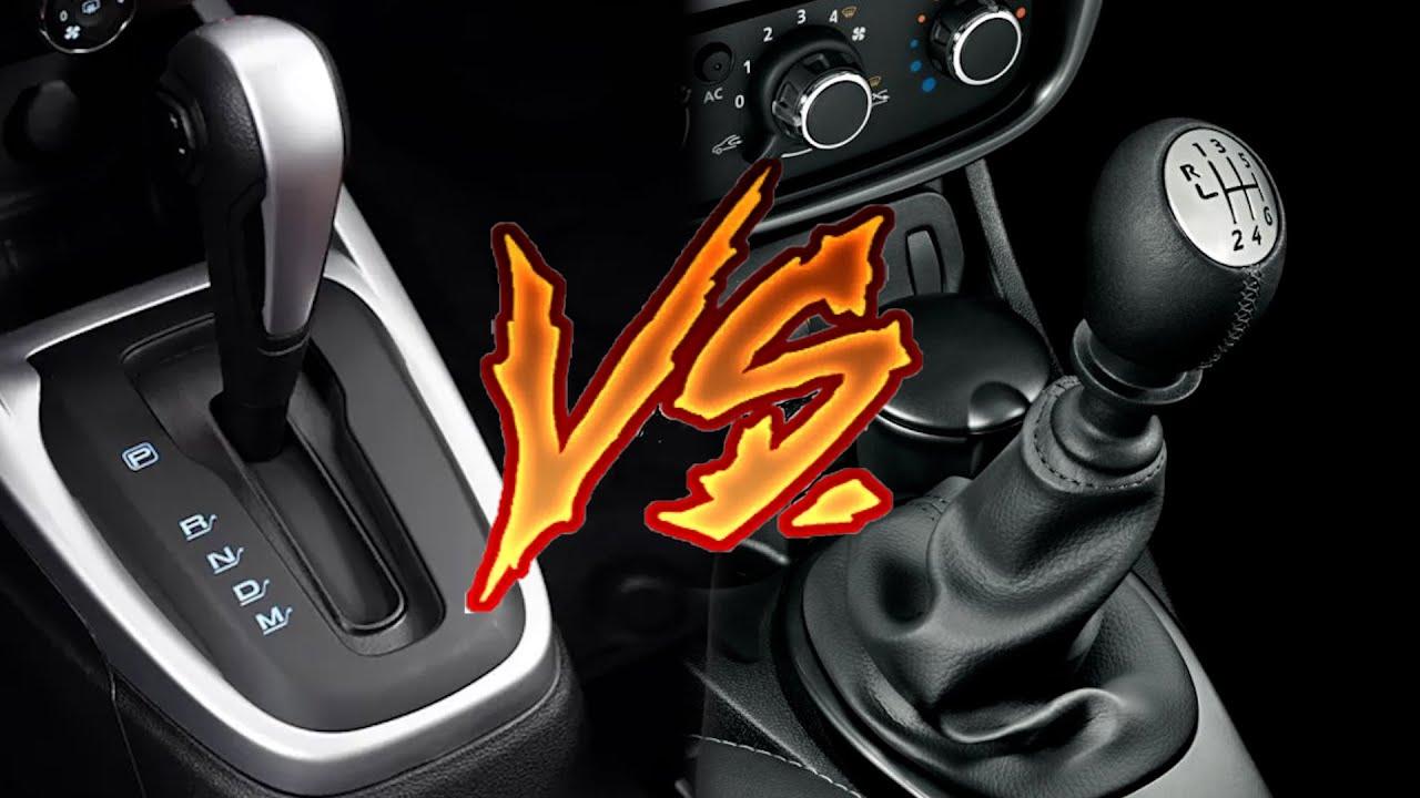 AUTOMÁTICO VS MANUAL,  qual escolher?