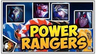 Teamfight Tactics: LvL 3 Kindred - GOGO POWER RANGERS