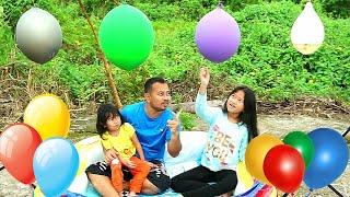 PAPA BERI SURPRISE 😍 Pecah Balon Air berisi Hadiah | Jessica Jenica