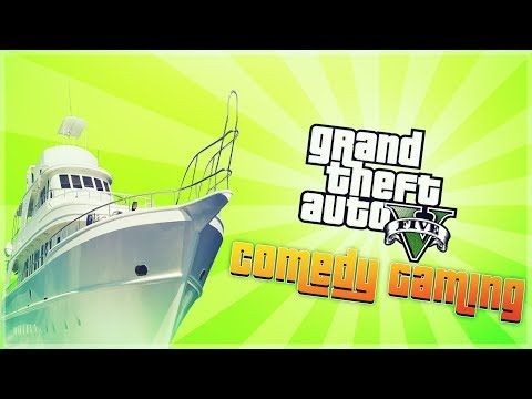 GTA 5 - Boat Rescue - Frans New Yacht - Comedy Gaming
