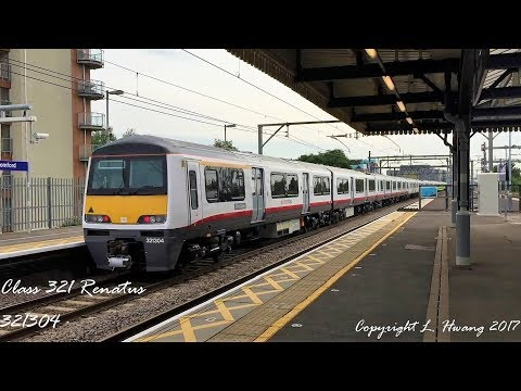[60fps] Fast Greater Anglia Class 321 (Feat. Renatus) Action At Romford