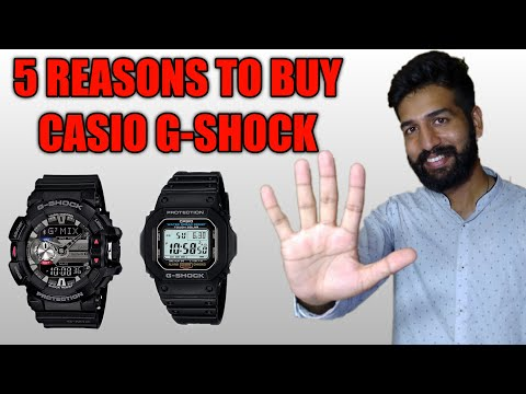 5 Reasons To Buy Casio G-SHOCK - Why You Should Own One?