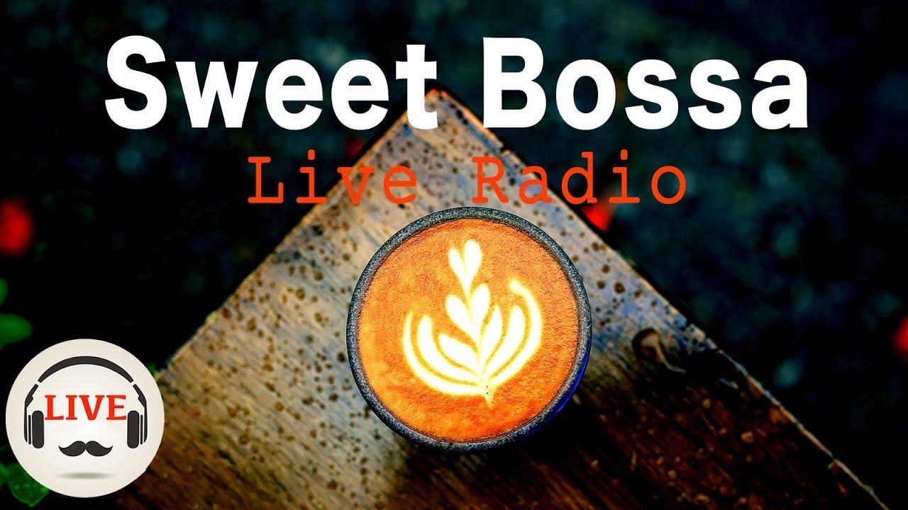 Sweet Bossa - Smooth Jazz Instrumental Rainy Mood - 24/7 Live