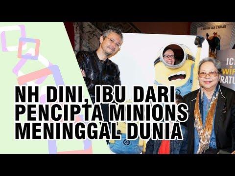 Ibu dari Pencipta Karakter Minions Pierre Coffin Meninggal, Novelis NH Dini Tewas di Tol Semarang Mp3